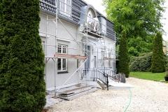 så skal der laves renovering af facaden