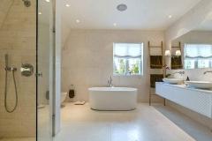 luksus badeværelse i ryvang - Lyngby Totalentreprise