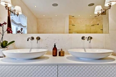 Nydelig rund håndvask