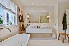 Luksus badeværelse i ryvang